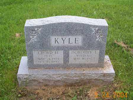 "KYLE, CLOYD H. ""PETE"" - Huntingdon County, Pennsylvania | CLOYD H. ""PETE"" KYLE - Pennsylvania Gravestone Photos"
