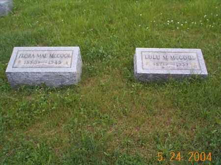 MCCOOL, LULU M. - Huntingdon County, Pennsylvania | LULU M. MCCOOL - Pennsylvania Gravestone Photos