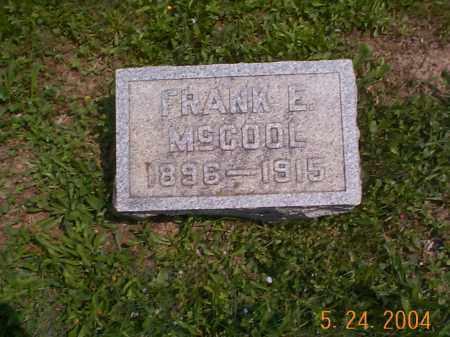 MCCOOL, FRANK E. - Huntingdon County, Pennsylvania | FRANK E. MCCOOL - Pennsylvania Gravestone Photos