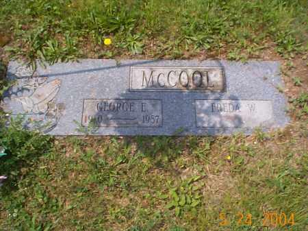 MCCOOL, GEORGE E. - Huntingdon County, Pennsylvania | GEORGE E. MCCOOL - Pennsylvania Gravestone Photos