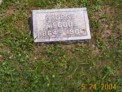 MCCOOL, GEORGE - Huntingdon County, Pennsylvania | GEORGE MCCOOL - Pennsylvania Gravestone Photos