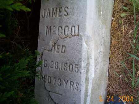 MCCOOL, JAMES - Huntingdon County, Pennsylvania | JAMES MCCOOL - Pennsylvania Gravestone Photos