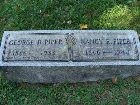 PIPER, GEORGE BRUCE - Huntingdon County, Pennsylvania | GEORGE BRUCE PIPER - Pennsylvania Gravestone Photos