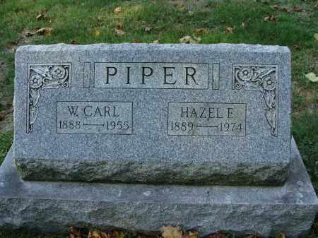 PIPER, W. CARL - Huntingdon County, Pennsylvania | W. CARL PIPER - Pennsylvania Gravestone Photos
