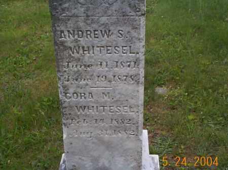 WHITESEL, ANDREW S. - Huntingdon County, Pennsylvania | ANDREW S. WHITESEL - Pennsylvania Gravestone Photos
