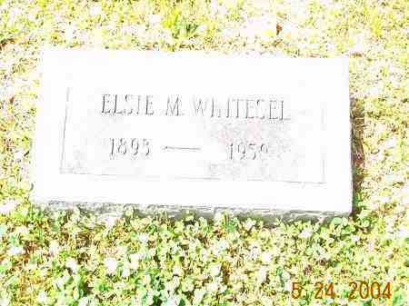 WHITESEL, ELSIE M. - Huntingdon County, Pennsylvania | ELSIE M. WHITESEL - Pennsylvania Gravestone Photos