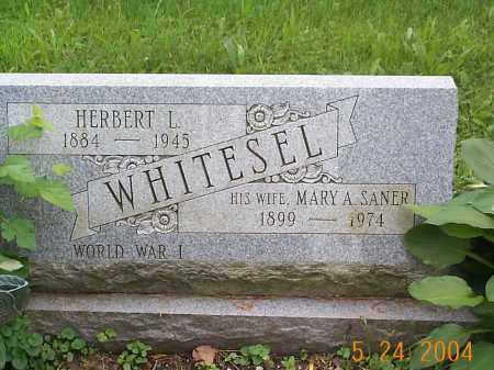 WHITESEL, HERBERT L. - Huntingdon County, Pennsylvania | HERBERT L. WHITESEL - Pennsylvania Gravestone Photos