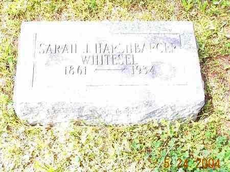 HARSHBARGER WHITESEL, SARAH J. - Huntingdon County, Pennsylvania | SARAH J. HARSHBARGER WHITESEL - Pennsylvania Gravestone Photos