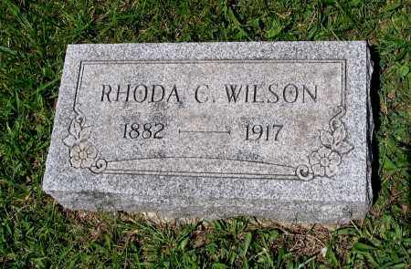 WILSON, RHODA CROSS - Indiana County, Pennsylvania | RHODA CROSS WILSON - Pennsylvania Gravestone Photos