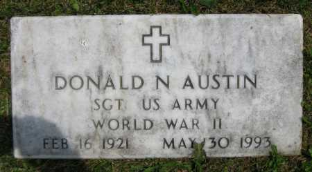 AUSTIN, DONALD N. - Juniata County, Pennsylvania | DONALD N. AUSTIN - Pennsylvania Gravestone Photos