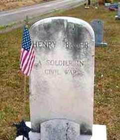BAKER, HENRY - Juniata County, Pennsylvania   HENRY BAKER - Pennsylvania Gravestone Photos