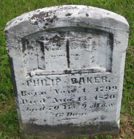 BAKER, PHILIP - Juniata County, Pennsylvania   PHILIP BAKER - Pennsylvania Gravestone Photos