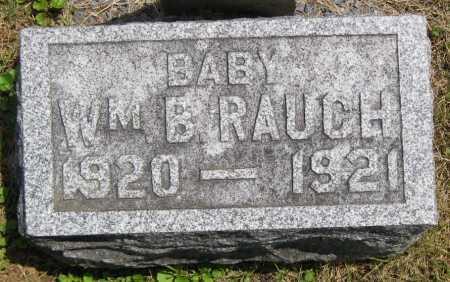 RAUCH, WILLIAM B. - Juniata County, Pennsylvania | WILLIAM B. RAUCH - Pennsylvania Gravestone Photos