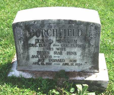 BURCHFIELD, HELEN MAE - Juniata County, Pennsylvania   HELEN MAE BURCHFIELD - Pennsylvania Gravestone Photos