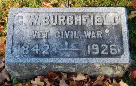 BURCHFIELD, G. W. - Juniata County, Pennsylvania   G. W. BURCHFIELD - Pennsylvania Gravestone Photos