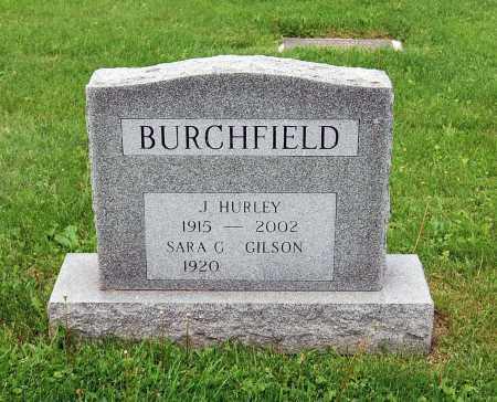 BURCHFIELD, SARA GRACE - Juniata County, Pennsylvania | SARA GRACE BURCHFIELD - Pennsylvania Gravestone Photos