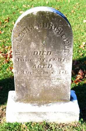 BURCHFIELD, LEWIS - Juniata County, Pennsylvania | LEWIS BURCHFIELD - Pennsylvania Gravestone Photos