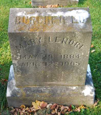 BURCHFIELD, MARY LENORE - Juniata County, Pennsylvania | MARY LENORE BURCHFIELD - Pennsylvania Gravestone Photos