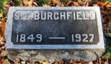 BURCHFIELD, SARAH ELIZABETH - Juniata County, Pennsylvania   SARAH ELIZABETH BURCHFIELD - Pennsylvania Gravestone Photos