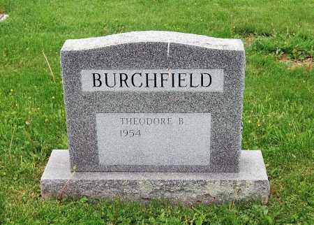 BURCHFIELD, THEODORE B. - Juniata County, Pennsylvania   THEODORE B. BURCHFIELD - Pennsylvania Gravestone Photos