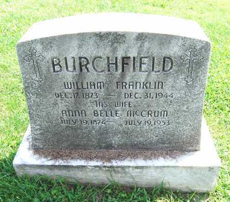 BURCHFIELD, ANNA BELLE - Juniata County, Pennsylvania | ANNA BELLE BURCHFIELD - Pennsylvania Gravestone Photos