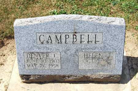 FOGLEMAN CAMPBELL, HELEN J. - Juniata County, Pennsylvania   HELEN J. FOGLEMAN CAMPBELL - Pennsylvania Gravestone Photos