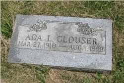 CLOUSER, ADA - Juniata County, Pennsylvania | ADA CLOUSER - Pennsylvania Gravestone Photos