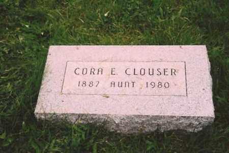 CLOUSER, CORA - Juniata County, Pennsylvania   CORA CLOUSER - Pennsylvania Gravestone Photos