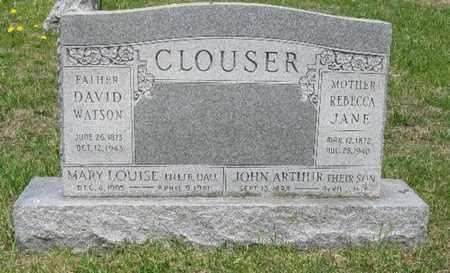 CLOUSER, MARY LOUISE - Juniata County, Pennsylvania | MARY LOUISE CLOUSER - Pennsylvania Gravestone Photos