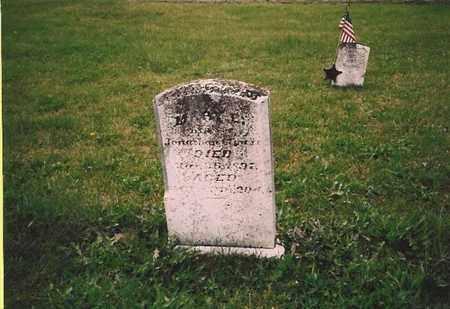 CLOUSER, MARY ELLEN - Juniata County, Pennsylvania   MARY ELLEN CLOUSER - Pennsylvania Gravestone Photos