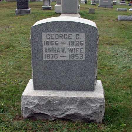 CROZIER, ANNA VERNA - Juniata County, Pennsylvania | ANNA VERNA CROZIER - Pennsylvania Gravestone Photos