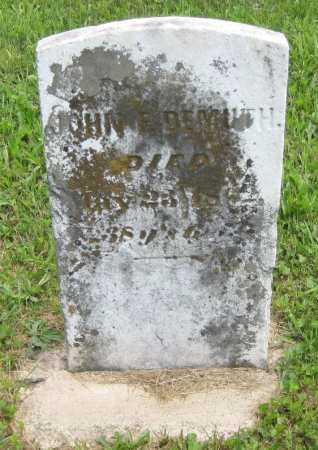 DEMUTH, JOHN F. - Juniata County, Pennsylvania | JOHN F. DEMUTH - Pennsylvania Gravestone Photos