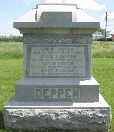 DEPPEN, DAVID B. - Juniata County, Pennsylvania | DAVID B. DEPPEN - Pennsylvania Gravestone Photos