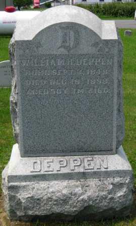 DEPPEN, WILLIAM H. - Juniata County, Pennsylvania   WILLIAM H. DEPPEN - Pennsylvania Gravestone Photos