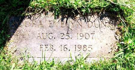 DUNN, DORA EVELYN - Juniata County, Pennsylvania   DORA EVELYN DUNN - Pennsylvania Gravestone Photos