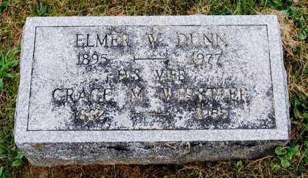 DUNN, GRACE M. - Juniata County, Pennsylvania | GRACE M. DUNN - Pennsylvania Gravestone Photos