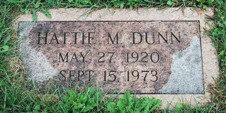 DUNN, HATTIE M. - Juniata County, Pennsylvania | HATTIE M. DUNN - Pennsylvania Gravestone Photos