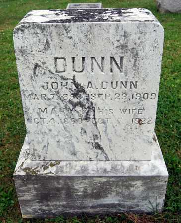 DUNN, MARY F. - Juniata County, Pennsylvania | MARY F. DUNN - Pennsylvania Gravestone Photos
