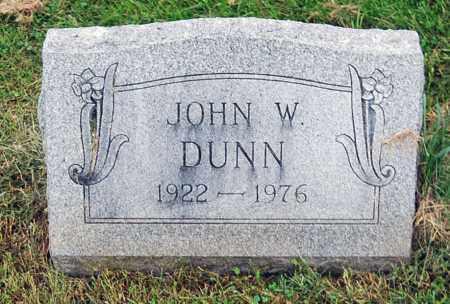 DUNN, JOHN W. - Juniata County, Pennsylvania | JOHN W. DUNN - Pennsylvania Gravestone Photos