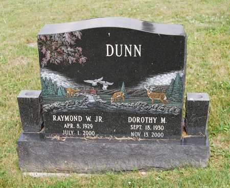 DUNN, RAYMOND W. - Juniata County, Pennsylvania | RAYMOND W. DUNN - Pennsylvania Gravestone Photos