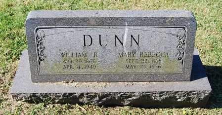 DUNN, MARY REBECCA - Juniata County, Pennsylvania | MARY REBECCA DUNN - Pennsylvania Gravestone Photos