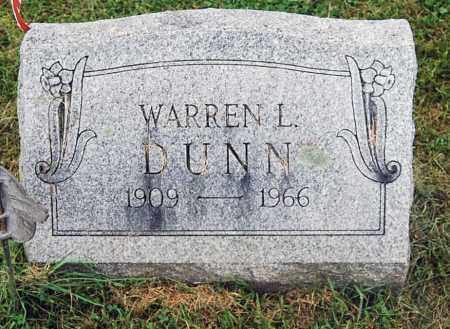 DUNN, WARREN L. - Juniata County, Pennsylvania | WARREN L. DUNN - Pennsylvania Gravestone Photos