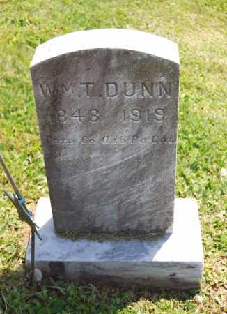 DUNN, WILLIAM T. - Juniata County, Pennsylvania | WILLIAM T. DUNN - Pennsylvania Gravestone Photos