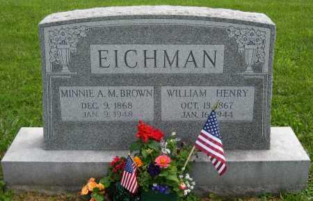 "EICHMAN, ANNA MARY ""MINNIE"" - Juniata County, Pennsylvania | ANNA MARY ""MINNIE"" EICHMAN - Pennsylvania Gravestone Photos"