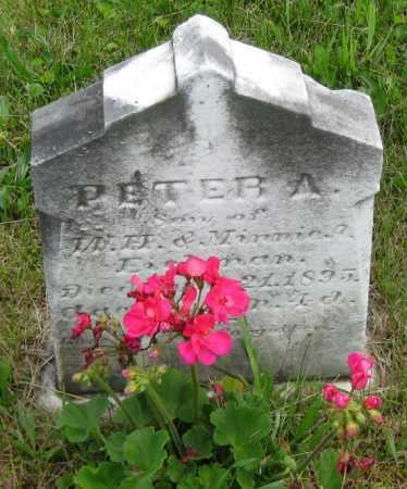EICHMAN, PETER A. - Juniata County, Pennsylvania   PETER A. EICHMAN - Pennsylvania Gravestone Photos