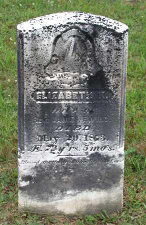 EWING, ELIZABETH - Juniata County, Pennsylvania | ELIZABETH EWING - Pennsylvania Gravestone Photos