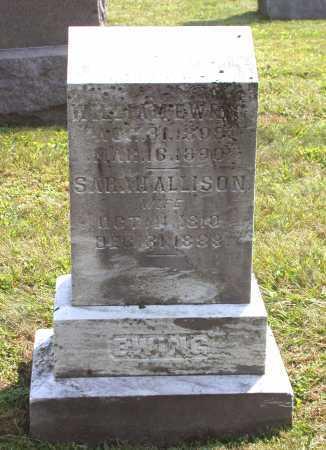 EWING, SARAH - Juniata County, Pennsylvania | SARAH EWING - Pennsylvania Gravestone Photos