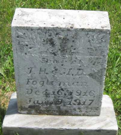 FOGLEMAN, (INFANT SON) - Juniata County, Pennsylvania   (INFANT SON) FOGLEMAN - Pennsylvania Gravestone Photos