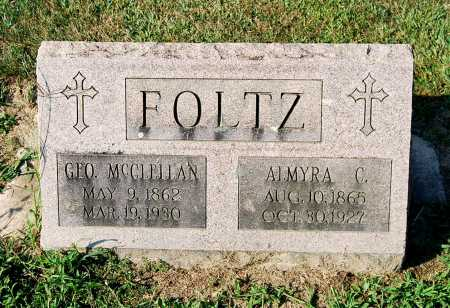 FOLTZ, ALMYRA C. - Juniata County, Pennsylvania | ALMYRA C. FOLTZ - Pennsylvania Gravestone Photos