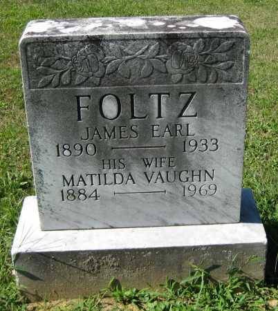 FOLTZ, JAMES EARL - Juniata County, Pennsylvania | JAMES EARL FOLTZ - Pennsylvania Gravestone Photos